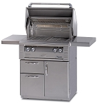 Alfresco 30-inch ALX2 All Infrared Propane Grill on Deluxe Cart