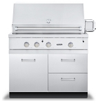 Viking 42 Inch Grill Base with Drawer and Door Combo - $2169