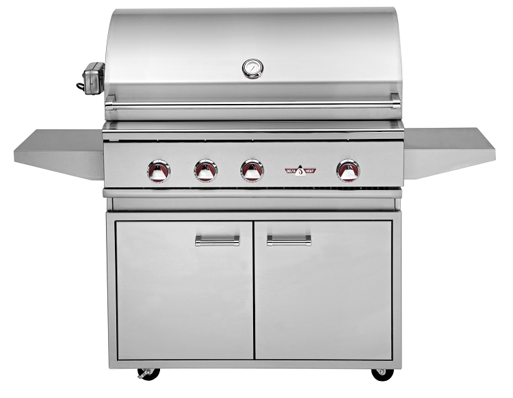 Delta Heat 38 Inch Natural Gas Grill With Infrared