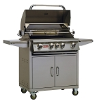 Bull Angus Propane Grill  On Cart