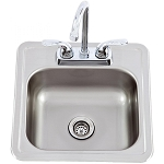 Bull Sink with Faucet