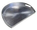 Caliber Thermashell Pro Stainless Steel Griddle - Large Size Plate