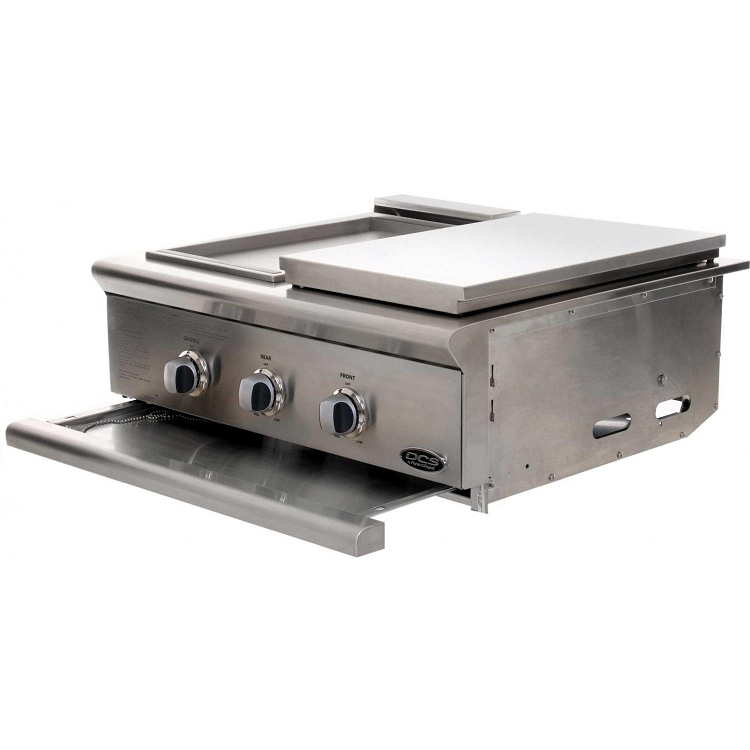 Dcs Liberty 30 Inch Natural Gas Grill With Double Side