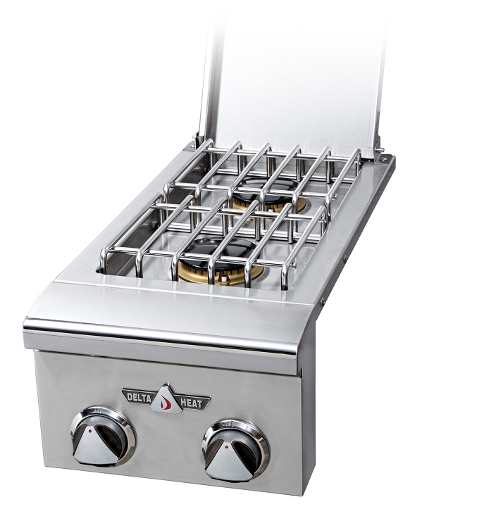 Delta Heat Natural Gas Double Side Burner