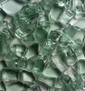 Green Fire Glass 1/4 Inch - 1 lb