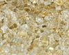 Gold Reflective Fire Glass 1/4 Inch - 1 lb