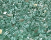 Green Reflective Fire Glass 1/4 Inch - 1 lb