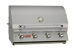 Bull Lonestar Select Natural Gas Grill With Lights