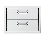 Sedona 17 Inch Double Storage Drawers