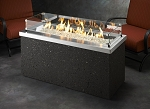 Key Largo Fire Pit Table - Stainless Steel Top