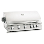 Summerset Sizzler 40 Inch Propane Gas Grill w/Rotisserie