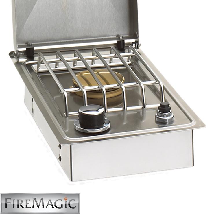 Countertop Single Burner : Fire Magic Drop-In Single Side Burner