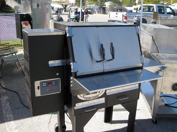 The new Cookshack  Grill smoker