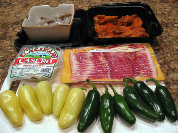Jalapeno Popper Ingredients
