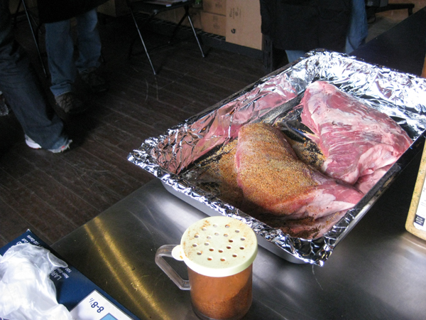 Prepping the Tri-tip