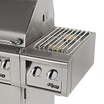 Alfresco 14-inch Natural Gas Dual Side Burner on Cart