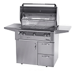 Alfresco 36-inch Deluxe Cart for ALX2 Grills
