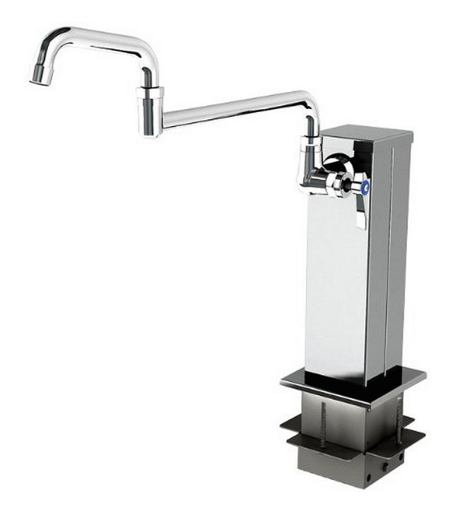 Pot Filler Faucet with Double Joint Spout