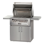 Alfresco LXE Series 30 Inch Sear Zone Grill on Cart - LP