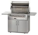 Alfresco LXE Series 36 Inch Standard Grill on Cart - NG
