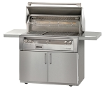 Alfresco LXE Series 42 Inch Sear Zone Grill on Cart