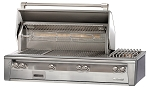 Alfresco LXE Series 56 Inch SearZone Grill with Sideburner - LP