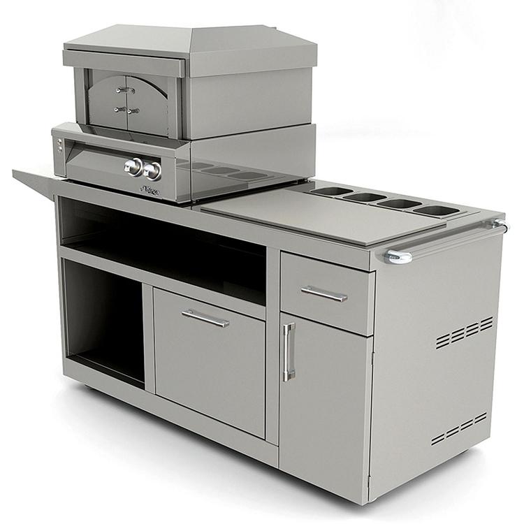 Countertop Smoker Oven : Alfresco 30 Inch Natural Gas Countertop Pizza Oven Plus