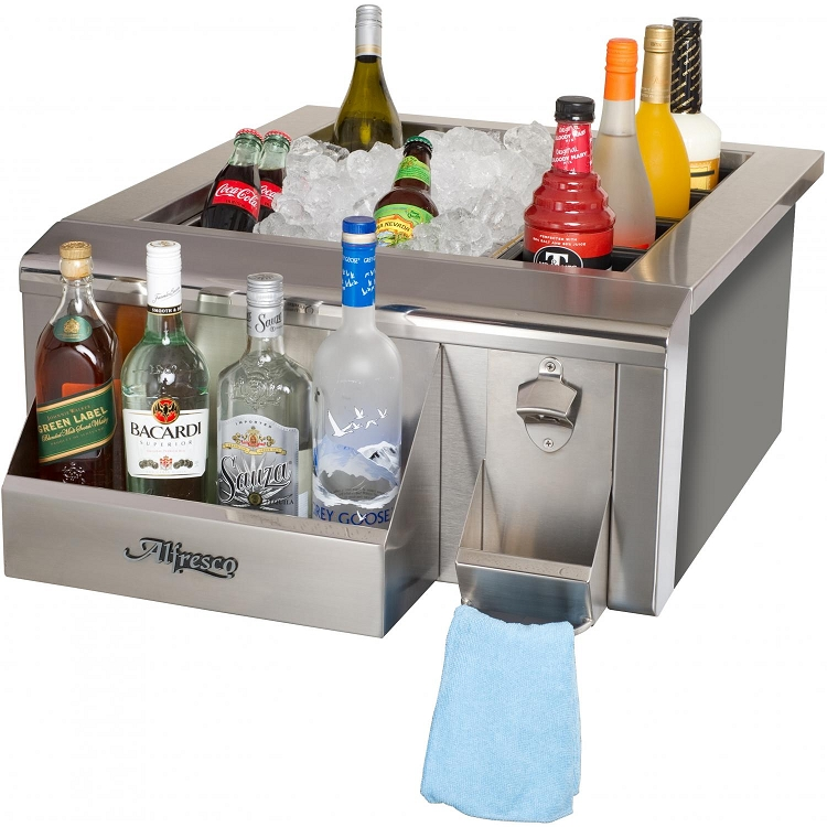 Alfresco 24 Inch Versa Sink And Beverage Center