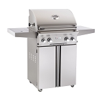 American Outdoor Grill 30 Inch Natural Gas Grill on Cart w/Rotisserie and Sideburner