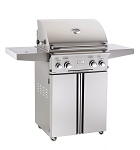 American Outdoor Grill 24 Inch Natural Gas Grill on Cart w/Rotisserie and Sideburner