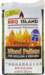 BBQ Island 100% Oak Wood Pellets - 20 lbs