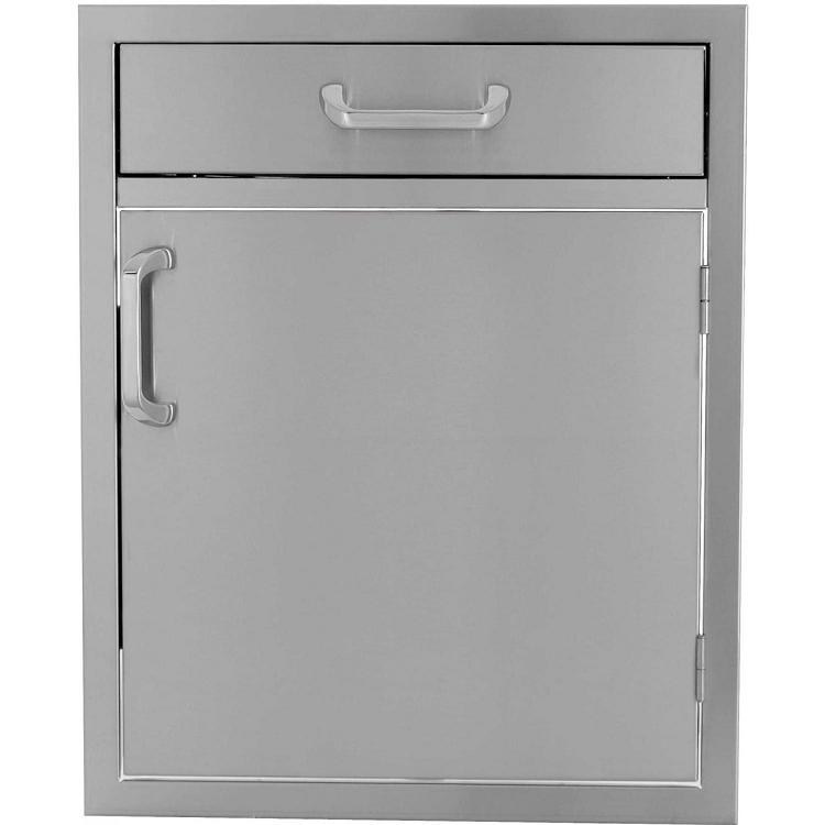 BBQ Island 21 Inch Single Door w/4 Inch Drawer Combo - 260 Series