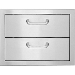 BBQ Island Double Storage Drawer - 260 Series