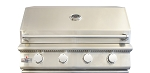 BBQ Island 32 Inch 4 Burner Natural Gas Grill