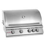 Blaze 32 Inch 4-Burner Natural Gas Grill with Rear Burner