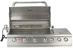 Bull 7 Burner Premium Natural Gas Grill With Lights and Rotisserie