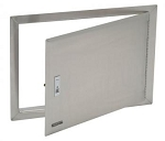 Bull Access Door with Lock and Frame