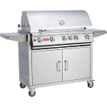 Bull Brahma 38 Inch Natural Gas Grill on Cart