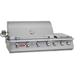 Bull Premium 47 Inch Propane Gas Grill with Lights and Rotisserie
