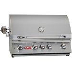 Bull Angus 30 Inch Natural Gas Grill with Lights and Rotisserie