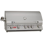 Bull Brahma 38 Inch Propane Grill with Lights and Rotisserie