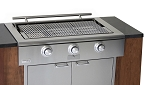 Rockwell By Caliber 48 Inch Pro Series Built In Propane Gas Grill