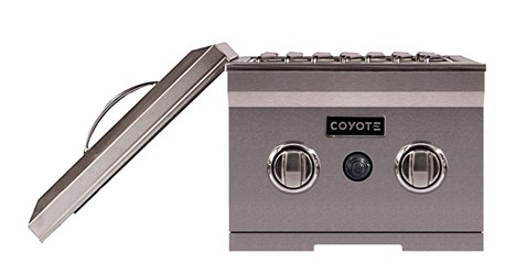 Coyote Natural Gas Double Side Burner