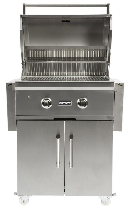 Coyote 28 inch c series natural gas grill on cart for Coyote outdoor grills reviews