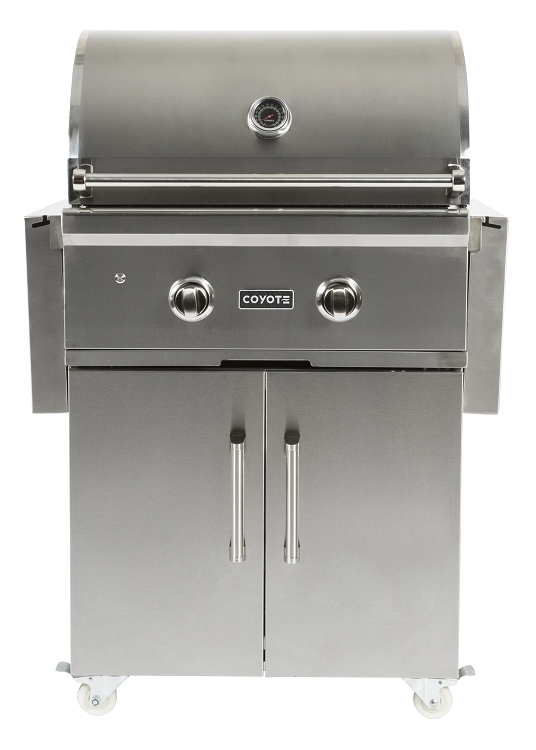 Coyote 28 inch c series propane gas grill for Coyote outdoor grills reviews