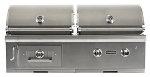 Coyote 50 Inch Hybrid Charcoal and Propane Gas Grill