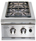 DCS 13 Inch Built In Propane Double Side Burner
