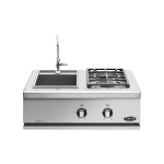 DCS 30 Inch Liberty Propane Dual Side Burners with Sink