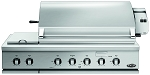 DCS 48 Inch Natural Gas Grill with Dual Side Burner and Rotisserie
