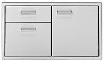 Delta Heat 30 Inch Door and Two Drawer Combo